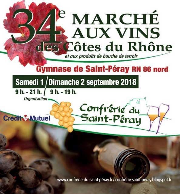 Marché aux Vins<br> de Saint-Péray