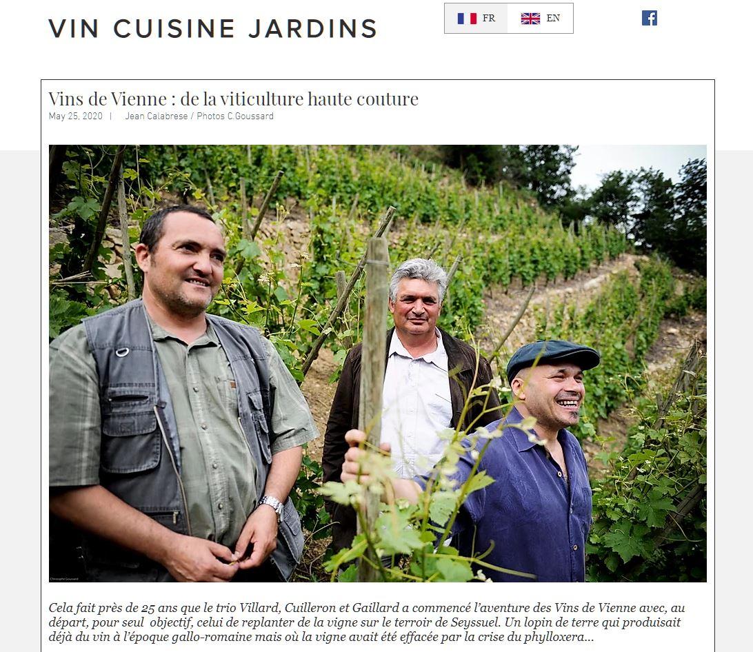 Vin Cuisine Jardins